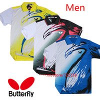 Wholesale NEW Butterfly table tennis t shirt Men table tennis clothes table tennis jerseys No