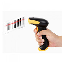 Wholesale 2 G Wireless Cordless Laser Barcode Scanner Bar Code Reader USB Automatic Handheld High Speed