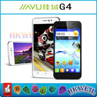 Wholesale Original jiayu G4 Advanced Android Cell Phone MTK6589T Quad Core GHZ G RAM G ROM With Inch Screen mp camera G GPS CB0922 WEIL