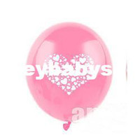 Wholesale Korean printing thicker inch balloon Christmas carnival balloons arranged marriage room