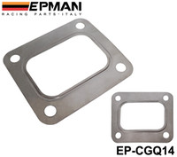 stainless steel flange - EPMAN T04E T66 T70 GT35 GT40 T4 Turbo Turbine Inlet Gasket T4 Flange Gasket Bolt Stainless Steel EP CGQ14