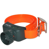 Wholesale Rechargeable And Waterproof Orange Remote Training and Beeper Collar IS PET910