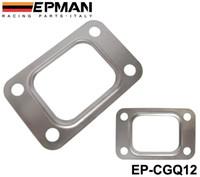 EP-CGQ12 steel flange - EPMAN T25 T28 GT25 GT28 GT2876 Turbo Turbine Exhaust Inlet Manifold Flange Gasket Stainless Steel EP CGQ12