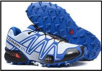 Wholesale salomon S LAB FELLCROSS SPEEDCROSS Running shoes Salomon Barefoot Running Shoes Flexiable Atletico Men Athletic Tenis Shoe Sports Tennis
