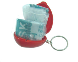 Wholesale CPR Mask CPR Micro Shield CPR Mini kit CPR face shield for first aid for first aid trainer