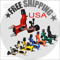 Wholesale USA Dispatch dragonfly Professional complete cheap tattoo guns machines colors per sets equipment power supply