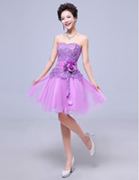 Hot Sale Lace Prom Dresses Special Occasion Dresses Straples...