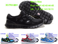 Cheap Wholesale Athletic Mens Sporting Free Run 2 Sneakers S...