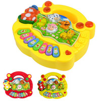 Suits for kids above 3 years-old. alphabet babies - S5Q Popular Baby Kid Animal Farm Piano Music Toy Developmental Hot AAACLR