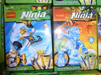 Wholesale Mixed styles Decoo Generation kids ninja toy ninjago toy minifigures with weapon building blocks sets