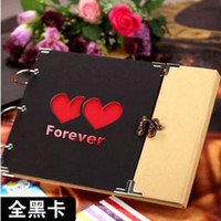 Leather Cut  Scrapbooking Products Handmade Gift Cutout Lovers Diy Photo Album Baby Origami Paper Photo Frame Scrapbook Paper Crafts