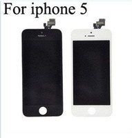 For Apple iPhone   Front Assembly LCD Display + Touch Screen Digitizer Replacement Part for iphone 5 5G Black and White