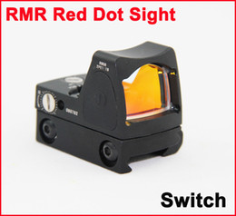 Tactical Trijicon Style RMR Red Dot Sight Reflex with Switch