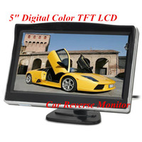 Wholesale 16 Screen inch Digital Color TFT LCD display Car Reverse Monitor DC V Car Backup Rearview Monitor for Camera DVD VCR H1612