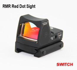 Tactical Trijicon Style RMR Red Dot Sight Reflex with Switch & Picatinny Rail Mount