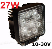 Wholesale 2014 hot sell W LED Lumin lm Aluminium alloy Square Work Light Fog Light for Jeep SUV ATV Off road Truck Auto parts