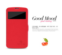 Wholesale Original NILLKIN Fresh Series Wallet Leather Cover Case for Samsung I9295 GALAXY S4 Active with retail package pc