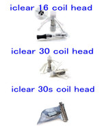Wholesale Innokin coils iClear iclear iclear s Clearomizer rebuildable dual coil head Atomizer coil head iclear16 replaceable head coils DHL