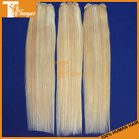 Straight Brazilian Hair machine Hot Sale 5A Brazilian Virgin Hair Straight 4pcs Lot Remy Human Hair Extensions Tanyee Hair Products Ombre Hair Weave Blonde Color #27 613
