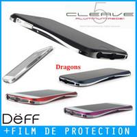 apple vapors - Bumper Coque Case Aluminium Metal Deff Cleave Draco Vapor A6061 For iPhone S