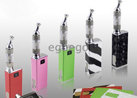 Wholesale Itaste mvp with iclear Clearomizer great quality iTaste MVP mah battery electronic i taste vv cigarette free DHL