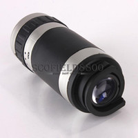 Wholesale New X Optical Zoom Phone Telescope Lens Case Cover Kit for Apple iPhone C