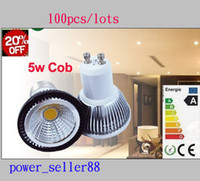 Wholesale Energy Saving W Led Spotlights COB Angle MR16 E27 GU10 Led Lights Bulb Warm Pure Cool White V High Power CE ROHS