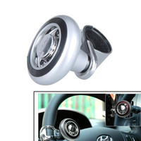 Cheap car Steering Wheel Knob Ball Steering Wheel Knob Ball Best ABS + Stainless steel Power Handle Grip Spinner  Power Handle Grip Spinner