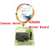 Cheap Free shipping!1pcs DC Gear Stepper Step Motor with ULN2003 Driver Board 5V 4 Phase 28YBJ-48