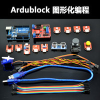 Wholesale New Ardublock Graphical Programming Zero based Science UNO R3 Learning Starter Kit For ARDUINO