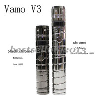 Electronic Cigarette /  2013 Newest Hot Products! Vamo V2 V3 V5 Provari VV Voltage Battery Mod Body