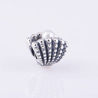 animal culture - S925 Sterling Silver One of a Kind Charm Bead with Freshwater Cultured Pearl Fits European Style Jewelry Bracelets Necklaces Pendants