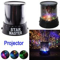 Wholesale Amazing LED Star Master Projector Light Star Led Night Light New Novelty