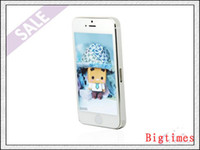 Wholesale IOS7 i5S G S Quad Core MTK6589 GHz GB GB GB Google Play Store GPS WiFi G WCDMA Nano Sim Card SmartPhone
