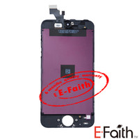 Wholesale Black and white Glass Touch Screen Digitizer amp LCD Assembly Replacement For iPhone amp Freeshipping