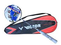 Wholesale victor brave sword L badminton rackets high end badminton racquet free shipmen