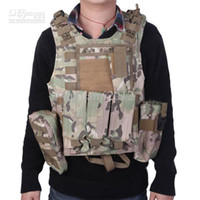 Wholesale Camouflage Paintball Tactical Combat Vest Paintball Harness