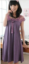 Wholesale Summer Women s clothing Lace Loose Pregnant women Dress