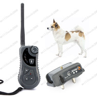 Wholesale Aetertek AT Waterproof m Remote Control Dog Training Auto Anti Bark Shock Collar MYY7759