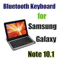 Wholesale 2013 Newest Christmas Gift Aluminum wireless bluetooth Keyboard for Samsung Galaxy Note N8000 bluetooth waitingyou