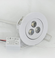 3W Yes LED LED DownLight Dimmable CREE 3W 5W 7W items White shell 330-770LM Bathroom living room kitchen light