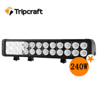 Wholesale 1PCS Inch W Cree LM SUV ATV Jeep x4 Offroad LED DRIVING LIGHT Bar Light bar for SUV STV UTV Off road Jeep Tractor Truck