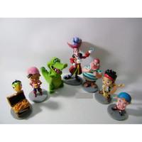 Wholesale Anime toy Anime Cartoon Jake and The Neverland Pirates PVC Action Figure Toys set