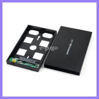 Wholesale Aluminum USB Max SATA Hard Disk Driver External Enclosure Box TB quot HDD Enclosure for Laptop Computer