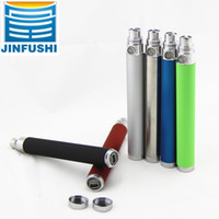 Electronic Cigarette Battery Stainless Wholesale-Ego u pass through battery Eectronic Cigarette E Cigarette ego u batery variable voltage battery ego usb charger 650mAh 900mah 110