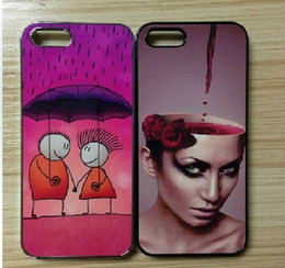 Wholesale DIY sublimation case for iphone s with aluminium metal sheet with adhesive tape for DHL