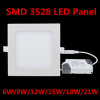 Cheap No LED Light Best 85-265V 3528 SMD LED Square Panel