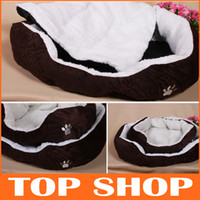 round beds - Pet Supplies Dogs Beds Cashmere Soft Warm Pet Bed Pet Nest Luxury Dog Nest Round Heated Colors Dog Kennel