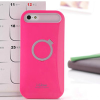 i-glow cases - Hybrid i glow i glow Korea design Hard Case Cover With kickstand For iphone S S With retail Package