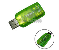 Wholesale Selling by For Laptop PC USB D Audio Sound Card Adapter
